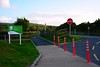 The upgraded entrance to the Limerick Greenway at Barnagh. Thurs 12.08.21