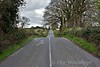 The Roscrea - Birr line at Sharavogue where a road crossed over it. Tues 04.04.17