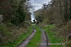 A Rathbeg the former railway line is now a farmers track leading off a public road. Tues 04.04.17