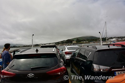 On the car ferry from Valentia Harbour to Knightstown. Sat 15.07.17