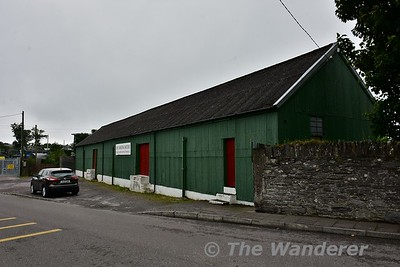 The former goods shed at Caherciveen. The Station Building was located further along the street. Sat 15.07.17