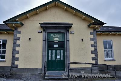 The disused station at Tuam. The station building was previously used as a cafe / restaurant but this is currently closed. Mon 06.08.18