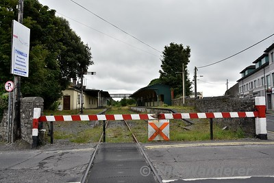 The disused station at Tuam. Looking north towards Claremorris. Mon 06.08.18