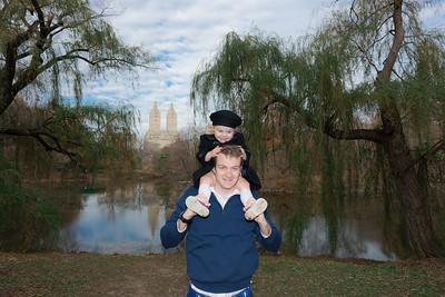 The Bragg's in Central Park