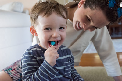John, his Aunt and his Lolly