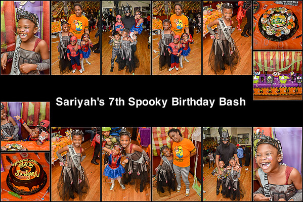 10/30/16 Sariyah Bday