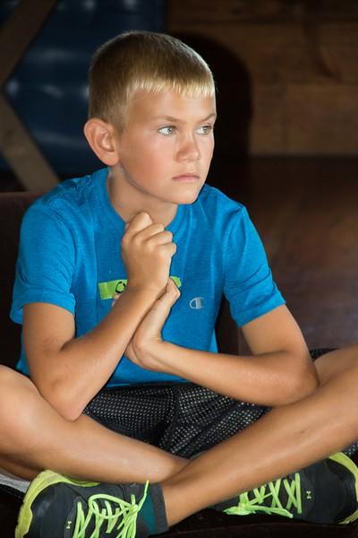 Owen Sitting