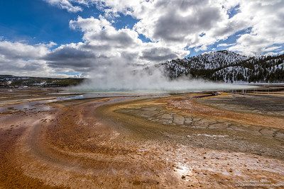 Grand prismatic (Yellowstone National Park)
