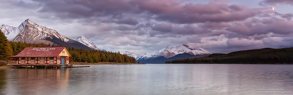 Lago Maligne / Maligne lake