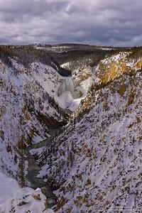 El cañon del rio Yellowstone / The Yellowstone River Canyon