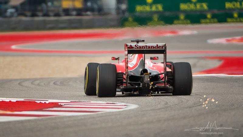 Sebastian Vettel (German), Scuderia Ferrari, 3rd in 2015 USGP
