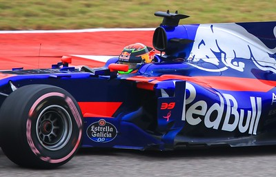Daniil Kvyat. Once deemed a promising newcomer, he was released from the team after this weekend due to inconsistent performance. He is 23.