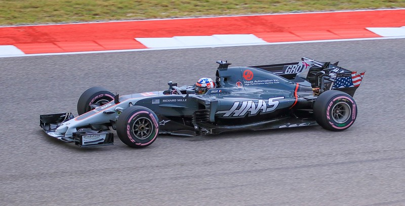 Frenchman Romain Grosjean.