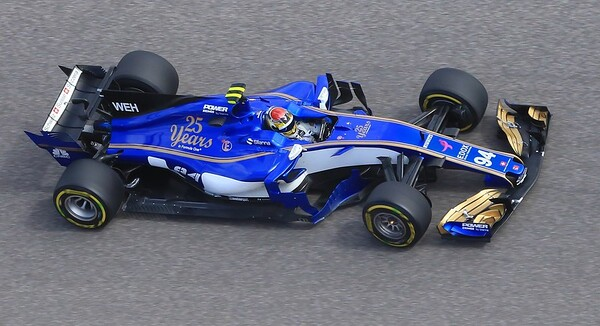Sauber driver Pascal Wehrlein. The leading teams spend several hundred millions of dollars per year to run 2 cars. Other teams spend much less.