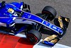 Marcus Ericsson of Sweden. The front wing and nose cone is all one piece, costs over $150,000 to make and takes 1200 man hours to craft out of carbon fiber.