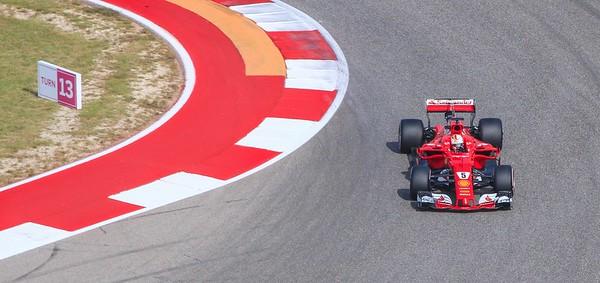 Sebastian Vettel, of Germany, drives for the Italians at Ferrari. Vettel has won 4 World Championships.