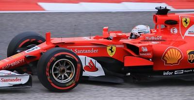 Sebastian Vettel finished 2nd on Sunday.