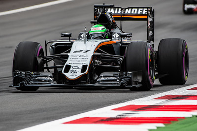 27 Nico Hülkenberg, Sahara Force India Formula One Team, Austria, 2016