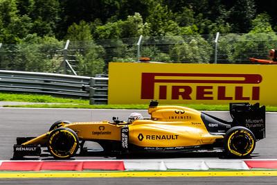 20 Kevin Magnussen, Renault Sport Formula One Team, Austria, 2016