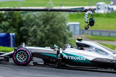 Nico Rosberg, Mercedes AMG Petronas Motorsport Formula One Team, Austria, 2016