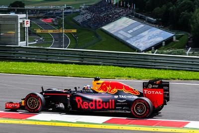 Daniel Ricciardo, Red Bull Racing, Austria, 2016