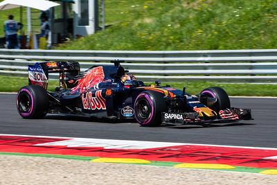 26 Daniil Kvyat, Scuderia Toro Rosso, Austria, 2016