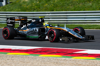 11 Sergio Perez, Sahara Force India Formula One Team, Austria, 2016