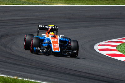 88 Rio Haryanto, Manor Racing MRT, Austria, 2016