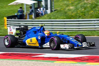 12 Felipe Nasr, Sauber F1 Team, Austria, 2016