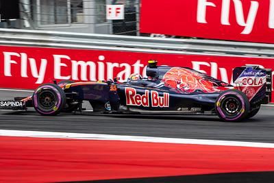 55 Carlos Sainz, Scuderia Toro Rosso, Austria, 2016