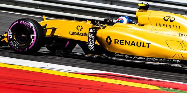 30 Jolyon Palmer, Renault Sport Formula One Team, Austria, 2016