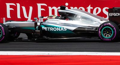 Lewis Hamilton, Mercedes AMG Petronas Motorsport Formula One Team, Austria, 2016