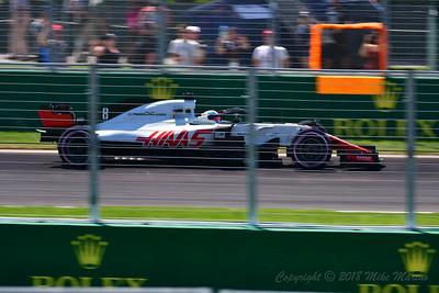No.8 Romain Grosjean.