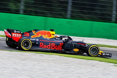 #3 Daniel RICCIARDO (AUS) in his Red Bull Racing RB14 during  second free practice ahead of the 2018 Italian Grand Prix