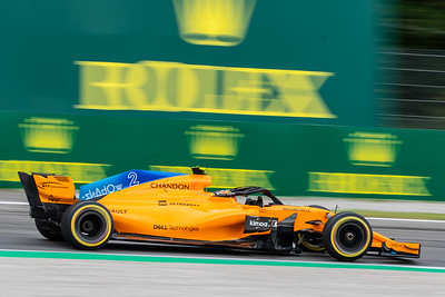 #2 Stoffel VANDOORNE (BEL) in his McLAREN MCL33 during second free practice ahead of the 2018 Italian Grand Prix
