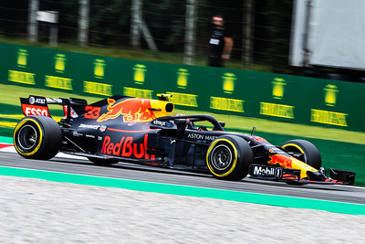 #33 Max VERSTAPPEN (NDL) in his Red Bull Racing RB14 during second free practice ahead of the 2018 Italian Grand Prix