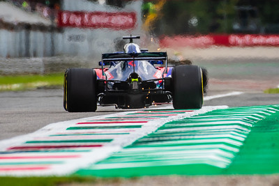 #28 Brendon HARTLEY (NZL) in his Toro Rosso Honda STR13 during