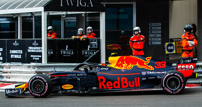 Monte Carlo/Monaco - 05/24/2018 - #33 Max VERSTAPPEN (NDL) in his Red Bull Racing RB14 during free practice ahead of the 2018 Monaco Grand Prix
