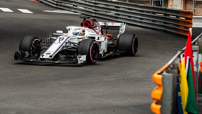 Monte Carlo/Monaco - 05/24/2018 - #9 Marcus ERICSSON (SWE) in his Alfa Romeo Sauber C37 during free practice ahead of the 2018 Monaco Grand Prix