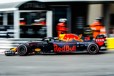 Monte Carlo/Monaco - 05/24/2018 - #3 Daniel RICCIARDO (AUS) in his Red Bull Racing RB14 during free practice ahead of the 2018 Monaco Grand Prix