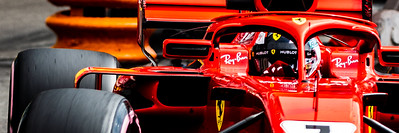 Monte Carlo/Monaco - 05/24/2018 - #7 Kimi RAIKKONEN (FIN) in his Ferrari SH71 during free practice ahead of the 2018 Monaco Grand Prix