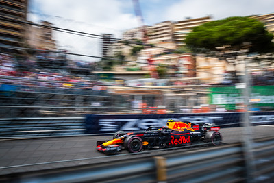Monte Carlo/Monaco -  05/24/2018 - #33 Max VERSTAPPEN (NDL) in his Red Bull Racing RB14 during FP2 ahead of the 2018 Monaco GP