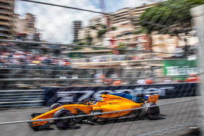 Monte Carlo/Monaco -  05/24/2018 - #14 Fernando ALONSO (SPA) in his McLAREN MCL33 during FP2 ahead of the 2018 Monaco GP