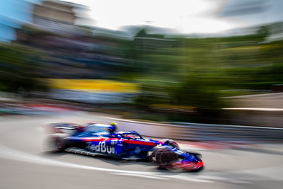 Monte Carlo/Monaco -  05/24/2018 - #10 Pierre GASLY (FRA) in his Toro Rosso Honda STR13 during FP2 ahead of the 2018 Monaco GP