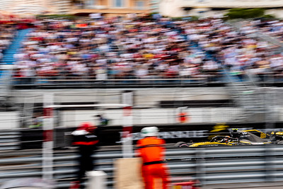 Monte Carlo/Monaco -  05/24/2018 - #55 Carlos SAINZ (SPA) in his Reault R.S.18 during FP2 ahead of the 2018 Monaco GP