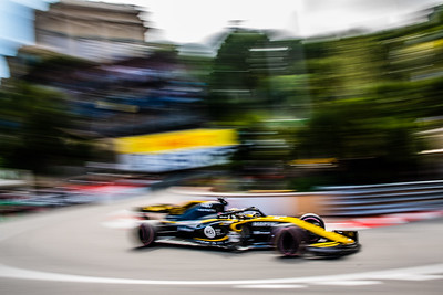 Monte Carlo/Monaco -  05/24/2018 - #27 Nico HUELKENBERG (GER) in his Reault R.S.18 during FP2 ahead of the 2018 Monaco GP