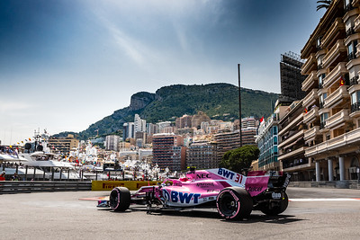 Monte Carlo/Monaco - 05/26/2018 - #31 Esteban OCON (FRA) in his Force India VJM11 during qualifying for the 2018 Monaco Grand Prix