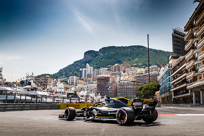 Monte Carlo/Monaco - 05/26/2018 - #27 Nico HULKENBERG (GER) in his Reault R.S.18 during qualifying for the 2018 Monaco Grand Prix