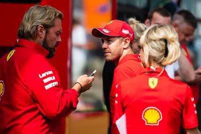 #5 Sebastian Vettel, Scuderia Ferrari, Belgium, 2019
