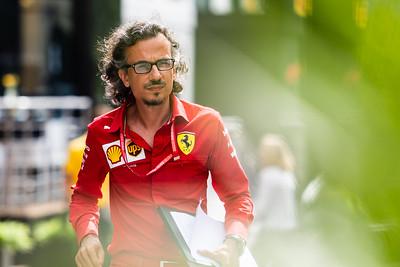 Laurent Mekies, Scuderia Ferrari, Belgium, 2019